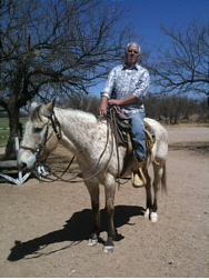 Rich on horse Tubac AZ